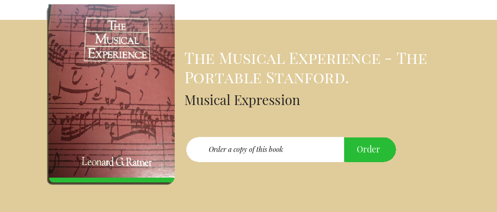 Musical Expression