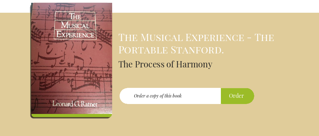 The Process of Harmony